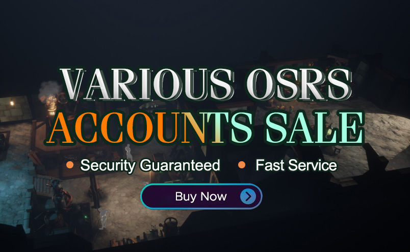 VARIOUS OSRS ACCOUNTS SALE